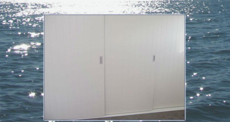 White MDF door
